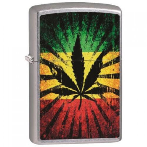 180026 Brichete Zippo Rastafari Leaf