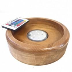 Baza narghilea lemn masiv - LED RGB