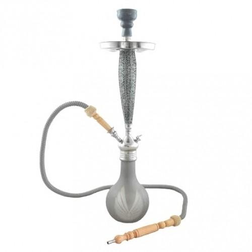 Narghilea Aladin Bangkok 2 Silver 69 CM