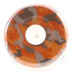 93431 Narghilea Kaya Clear AC 330 Orange Camouflage 32 CM
