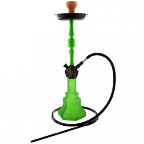 96389 Narghilea Kaya Green Neon SPNX L 72 CM