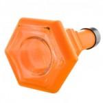 96390 Narghilea Kaya Orange Neon SPNX L 72 CM