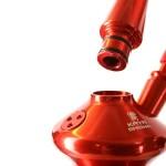 99183 Narghilea Kaya Purple ELOX Tradi-Line Red 2S 80 CM