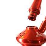 99185 Narghilea Kaya Tradi Grey ELOX Tradi-Line Red 2S 80 CM