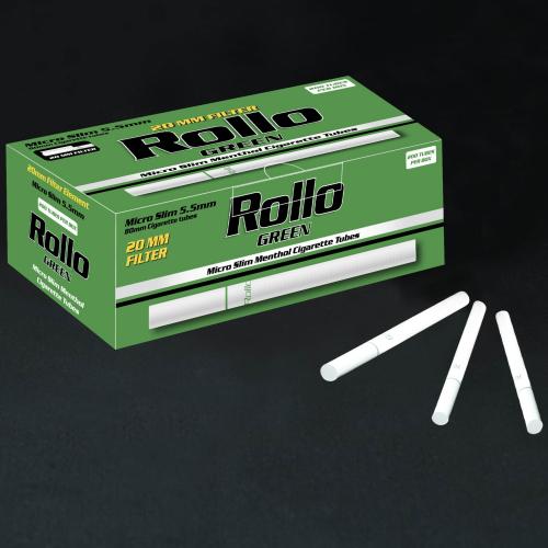 Tuburi Tigari Rollo Micro Slim Menthol