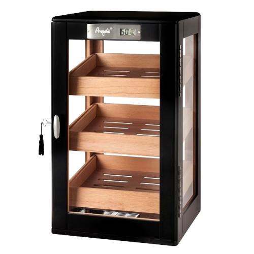 920022 Cabinet-umidor Angelo Black