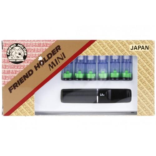 Porttigaret Friend Holder Mini Black (6 filtre)