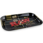 13835 Rolling Tray RAW BLACK Small Size (27,5 x 17,5 cm)