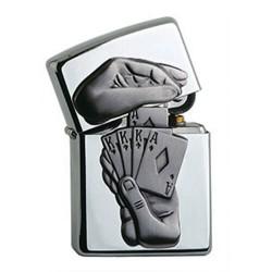 146030 Bricheta Zippo Trick Poker