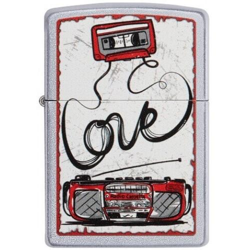 151574 Bricheta Zippo Love Tape