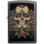 151578 Bricheta Zippo Skull Roses