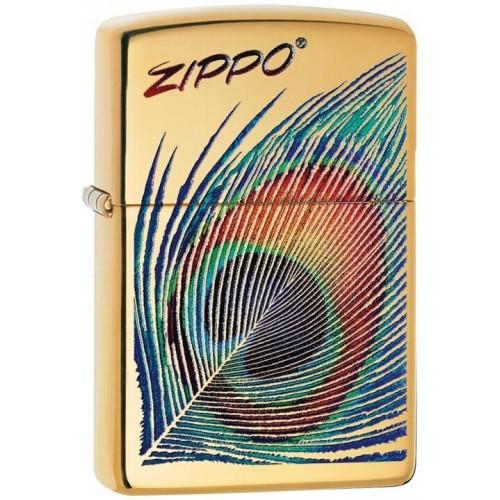 180068 Brichete Zippo Peacock Feather