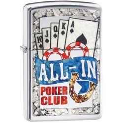 180061 Brichete Zippo Poker All in