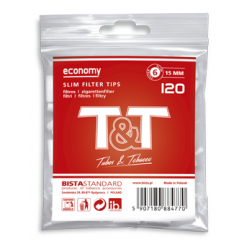 Filtre Tigari T&T Economy Slim 6/15 mm