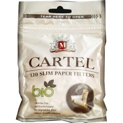 Filtre Tigari Cartel Bio Slim 6/15 mm