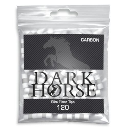 Filtre Tigari Dark Horse Slim Carbon 6/15 mm