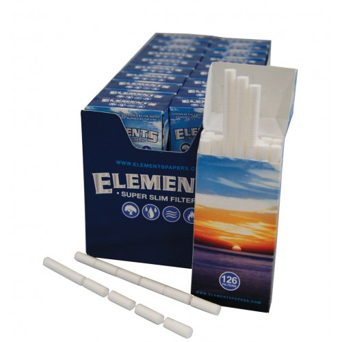 Filtre Tigari Elements Extra Slim Pop-Up