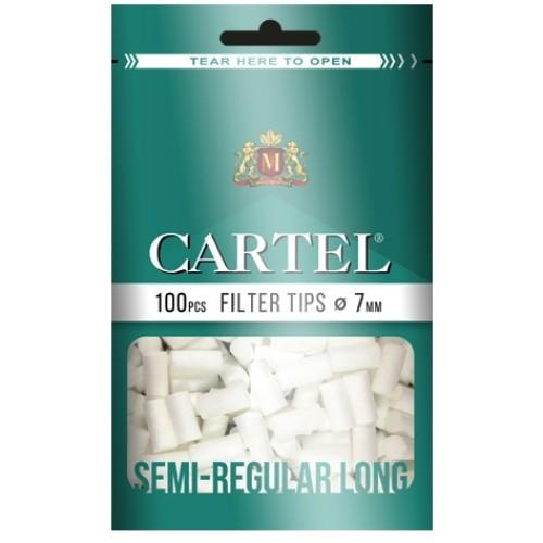 Filtre Tigari Cartel 7/22 semi-regular long
