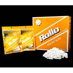 Filtre Tigari Rollo Yellow Micro Slim 5/15 mm