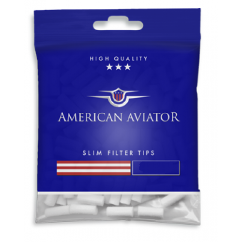 Filtre Tigari American Aviator Slim Long 6/22 mm