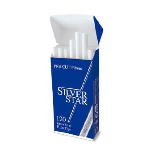 Filtre Tigari Silver Star Pre-Cut Extra Slim 5,7/14 mm
