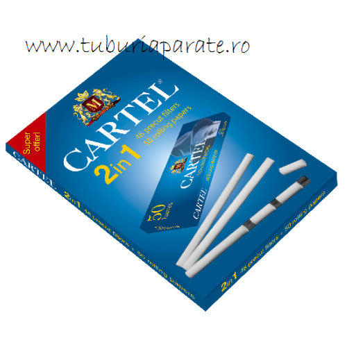Filtre Tigari Cartel Extra Slim Pre-Cut 2in1