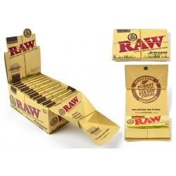 Foite Rulat Tutun RAW Organic Artesano 1 1/4