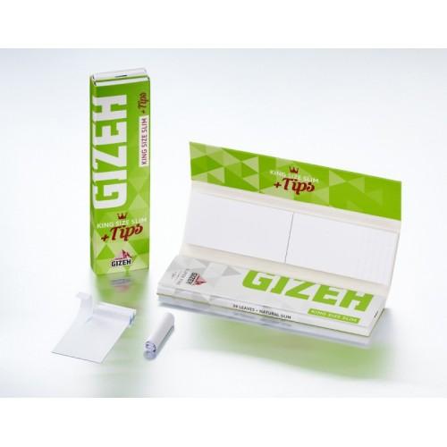 Foite Rulat Tutun Gizeh Super Fine Slim KS + FT