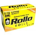 Foite Rollo Slim Yellow Rola + Filter Tips (4 m)