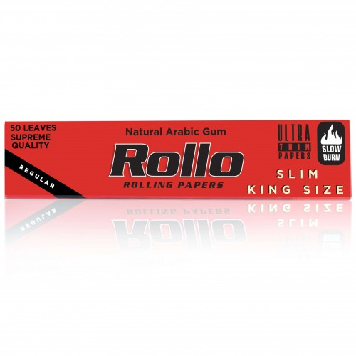 Foite rulat tutun Rollo Red King Size Slim
