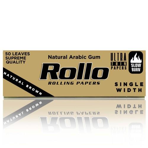 Foite rulat tutun Rollo Brown (foita maro)