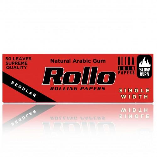 Foite rulat tutun Rollo Red (foita alba)