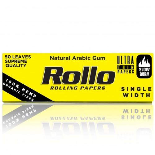 Foite rulat tutun Rollo Yellow  (foite transparente)