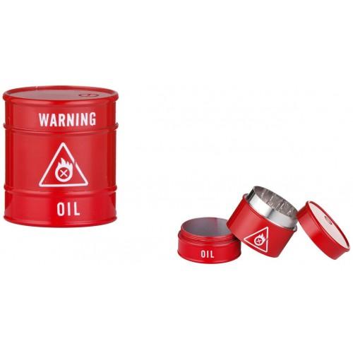340030 Grinder Oil Barrel Metalic
