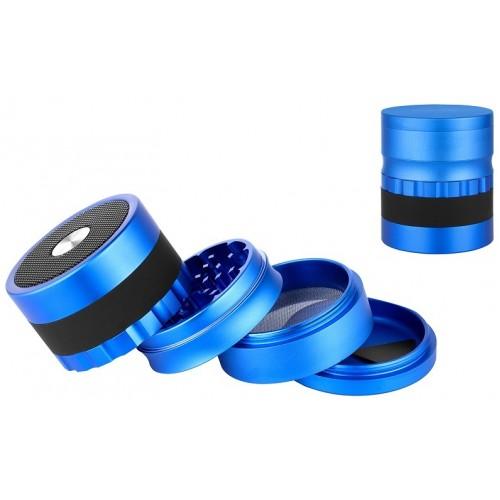 340178 Grinder cu boxa bluetooth - Blue Mat
