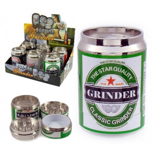 340370 Grinder Beer Can