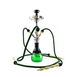 Narghilea Aladin Timbuktu Black Green 65 CM