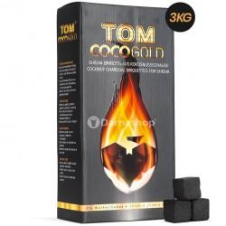 Carbuni Narghilea Tom Cococha Gold 3 kg - big box