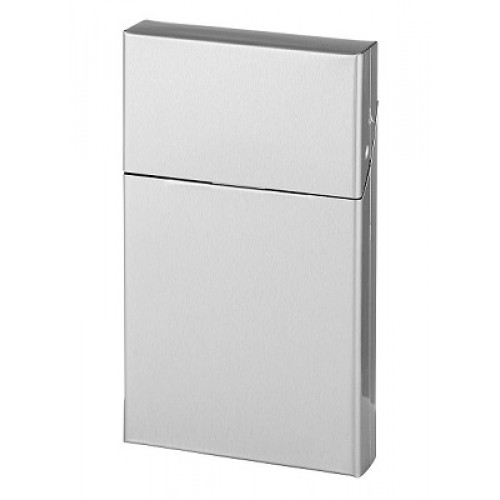 803022 Clic Box Slim Silver Metalic