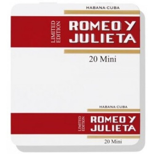 Tigari de Foi Romeo Y Julieta Mini 20 (metal case)