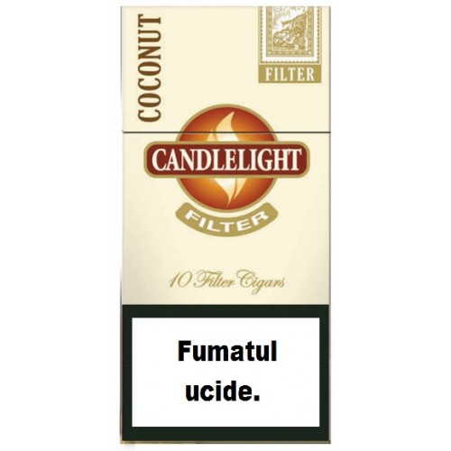 Tigari de Foi Candlelight Mini Coconut Filter 10