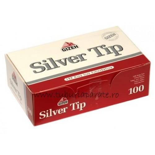 Tuburi Tigari Gizeh Silver Tip 100