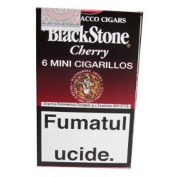 Tigari de Foi Black Stone Mini Cigarillos Cherry 6