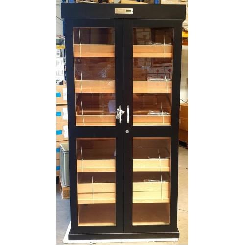 920007 Cabinet Humidor Angelo Black 180x88x45