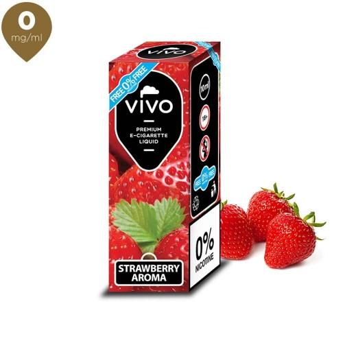 Lichid tigara electronica VIVO 10 ml Strawberry 0 mg/ml