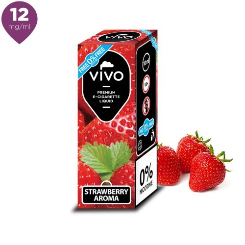 Lichid tigara electronica VIVO 10 ml Strawberry cu nicotina 12 mg/ml