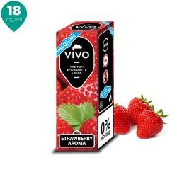 Lichid tigara electronica VIVO 10 ml Strawberry 18 mg/ml