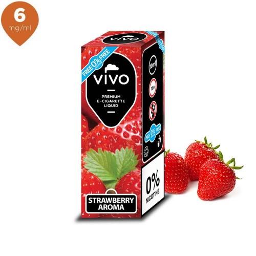 Lichid tigara electronica VIVO 10 ml Strawberry 6 mg/ml
