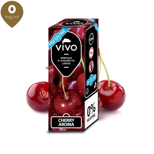 Lichid tigara electronica VIVO 10 ml Cherry 0 mg/ml