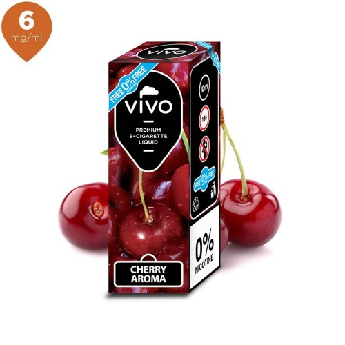 Lichid tigara electronica VIVO 10 ml Cherry 6 mg/ml